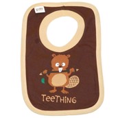 LazyOne Boys Teething Baby Bib