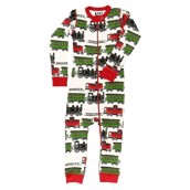 LazyOne Unisex Train Caboose Flapjack Infant