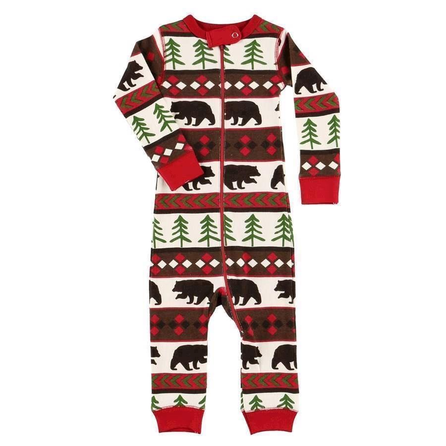 LazyOne Unisex Bear Essentials Flapjack Infant