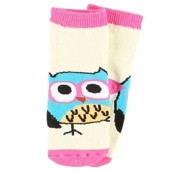 LazyOne Girls I'm Owl Yours Infant Socks