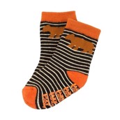 LazyOne Boys Bear Stripe Infant Socks