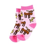 LazyOne Duck Duck Moose Infant girl Socks