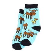 LazyOne Duck Duck Moose Infant Socks