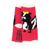 LazyOne Girls Little Stinker Infant Socks