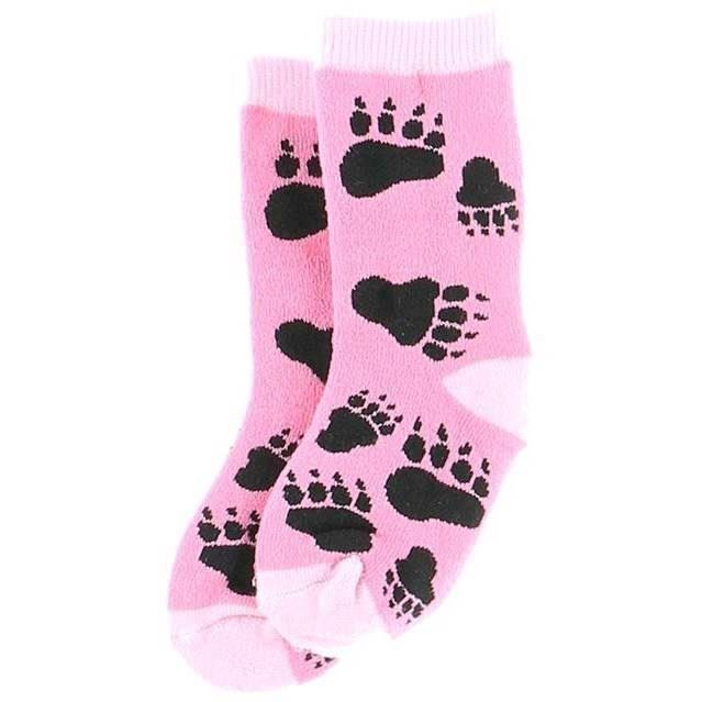 LazyOne Girls Bear Hug Infant Socks