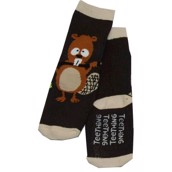 LazyOne Boys Teething Infant Socks