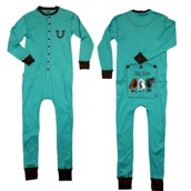 LazyOne Tail End Kids Flapjack Onesie