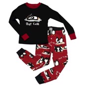 LazyOne Boys Out Cold Kids PJ Set Long Sleeve