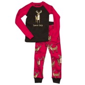 LazyOne Girls Trophy Child Kids PJ Set Long Sleeve