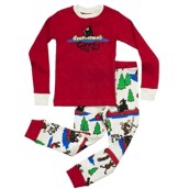 LazyOne Boys Canoe Tuck Me In? Kids PJ Set Long Sleeve