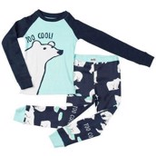 LazyOne Unisex Too Cool! Kids PJ Set Long Sleeve