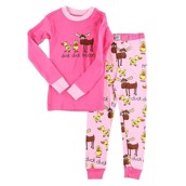 LazyOne Duck Duck Moose Kids PJ Set Long Sleeve