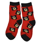 LazyOne Unisex Bear Bum Kids Socks