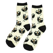 LazyOne Boys Bat Moose Kids Socks