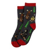 LazyOne Happy Camper Kids Socks