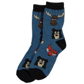 LazyOne Boys Sleepy Head Kids Socks