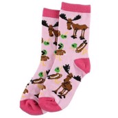 LazyOne Girls Duck Duck Moose Kids Socks