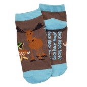 LazyOne Boys Duck Duck Moose Kids Socks