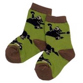LazyOne Boys Bearly Awake Kids Socks