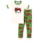 LazyOne Boys Home Grown Kids PJ Set Short Sleeve