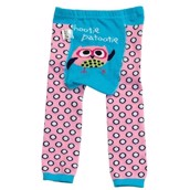 LazyOne Girls Hootie Patootie Infant Leggings