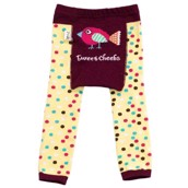 LazyOne Girls Tweet Cheeks Infant Leggings