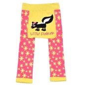 LazyOne Girls Little Stinker Infant Leggings