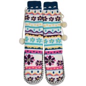 LazyOne Womens Flower Power Mukluk Slippers