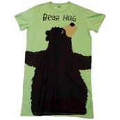 LazyOne Womens Bear Hug Nightshirt