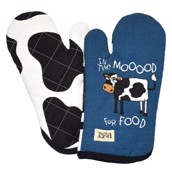 LazyOne In the Mood for Food Oven Mitt