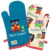 LazyOne Hoos Hungry Oven Mitt
