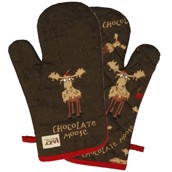 LazyOne Chocolate Moose Oven Mitt
