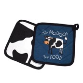 LazyOne In the Mood for Food Pot Holder