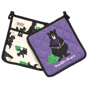 LazyOne Huckle-Beary Pot Holder