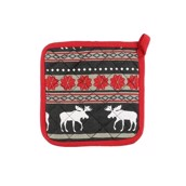 LazyOne Moose Fair Isle Pot Holder