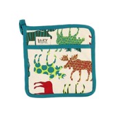 LazyOne Pattern Moose Pot Holder