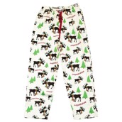 LazyOne Unisex Moosletoe PJ Trousers Adult