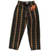 LazyOne Unisex Flannel Moose PJ Trousers Adult