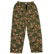 LazyOne Unisex Fatigued PJ Trousers Adult