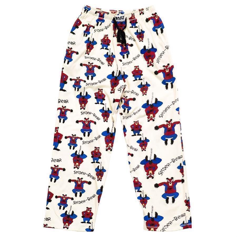 LazyOne Unisex Spider Bear PJ Trousers Adult