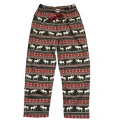 LazyOne Unisex Moose Fair Isle PJ Trousers Adult