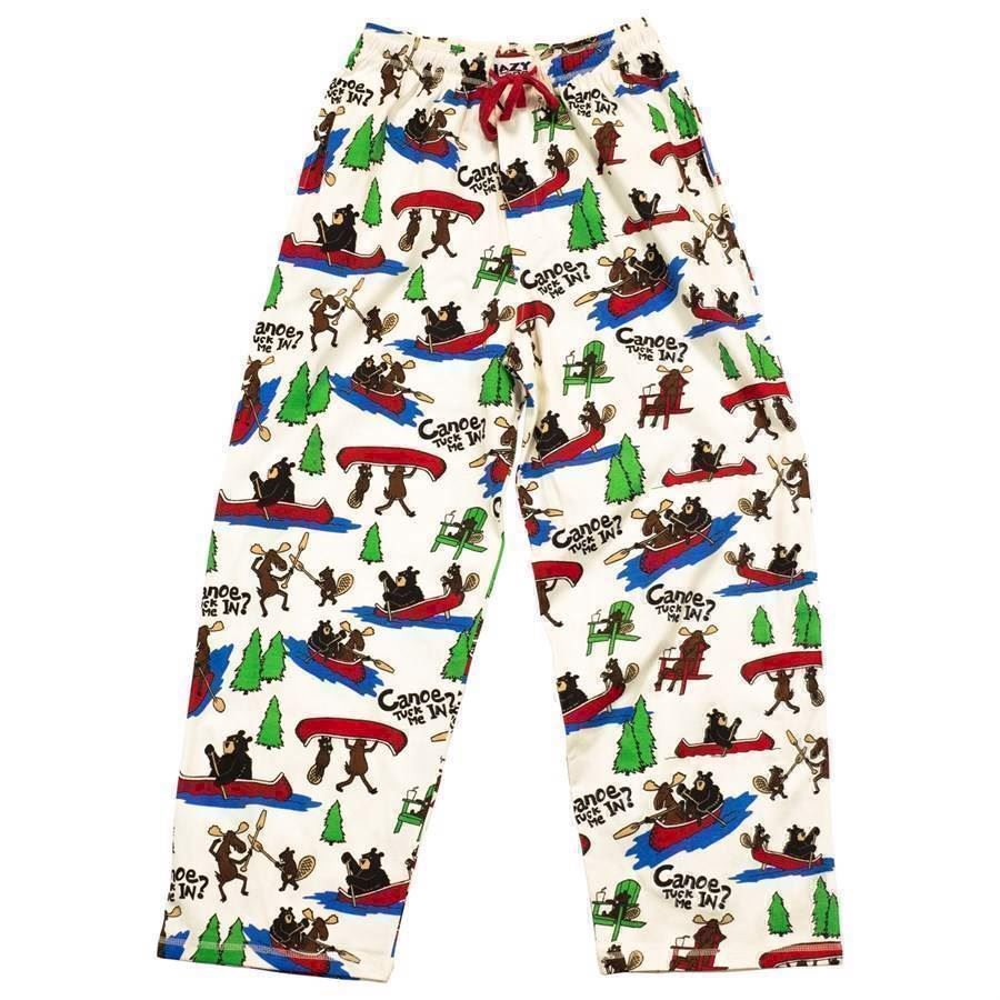 LazyOne Unisex Canoe Tuck Me In PJ Trousers Adult