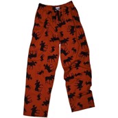 LazyOne Unisex Classic Moose Red PJ Trousers Adult