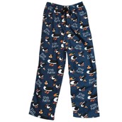 LazyOne Unisex Stud Puffin PJ Trousers Adult
