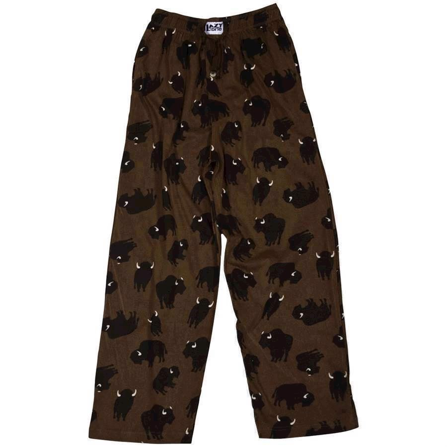 LazyOne Unisex Buffalo PJ Trousers Adult