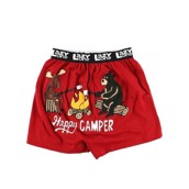 LazyOne Happy Camper Mens Boxer Shorts