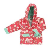LazyOne Girls Rise and Shine Rain Coat Kids