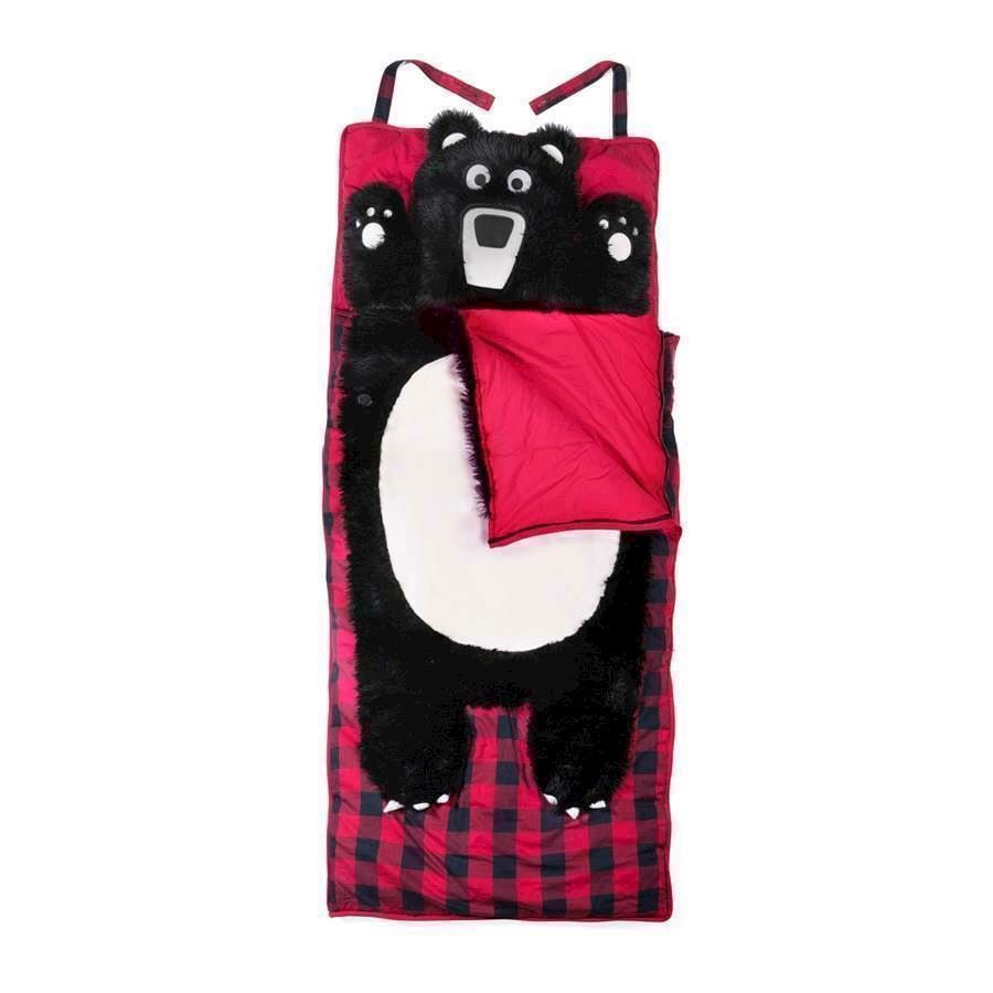 Sleeping Bag with built in pillow Bear