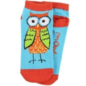 LazyOne Unisex I'm Owl Yours Adult Slipper Socks