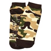 LazyOne Unisex Camo Deer Adult Slipper Socks